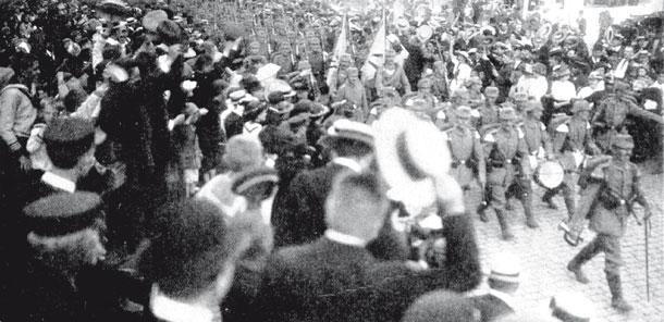 Kriegsbegeisterung 1914